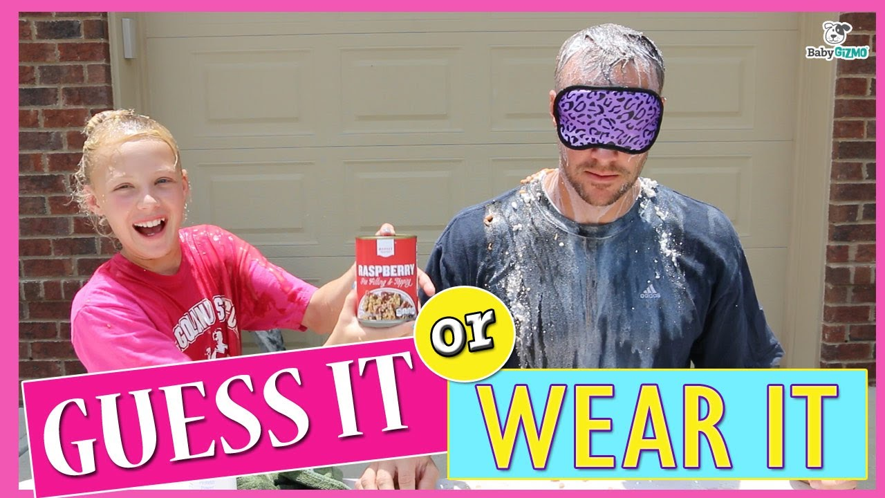 guess it or wear it challenge with my dad