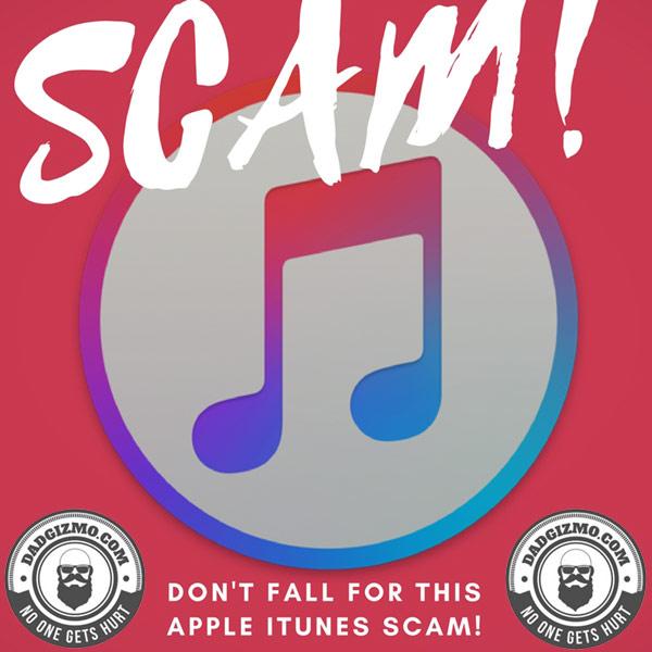 Itunes Apple Email Scam
